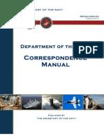Secnav m 5216 5 Don Correspondence Manual