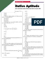 Quantitative Aptitude 12
