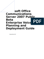 OCS VoIp Guide