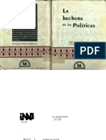La Hechura de Las Politicas