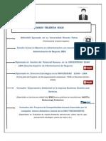 Curriculum Vitae de Jose Valencia Solis