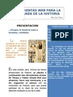 Herramientas Web para la enseñanza de la Historia