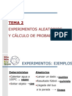 Probabilidad Teoremas y Tipos