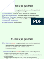 Presentation Mecanique Generale