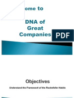 DNA of a Great Companies
