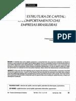 Eid Jr. (1996) - Custo e Estrutura de Capital