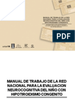 Manual Evaluacion Neurocognitiva HC