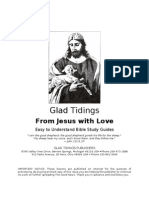 From Jesus With Love - Glad Tidings - Bible Study Guides - word 2003