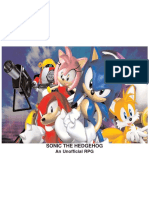 Sonic the Hedgehog The Unofficial RPG