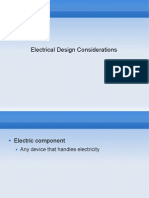 Lesson 3 - Electrical Design Considerations