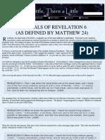Revelation 6 and Mathew 24
