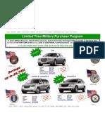 Military EP Pricing Chrysler