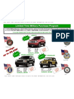 Military EP Pricing Jeep