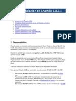 Guía de Instalación de Chamilo 1