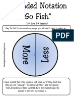 Expanded Notation Go Fish 10 -99