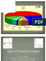 Types of Nucleonic Gauges