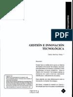 Gestion e Innovacion Tecnologica