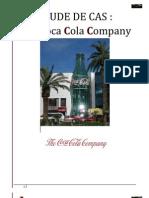 RAPPORT stratégie des entreprise COCA résumé
