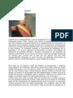 Biografía de José Antonio Paez