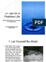 10 Tips for a Fearless Life
