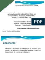 PROJETO LABORATORIO DE INFORMATICA (TCC)