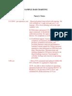 Sample Dar Charting