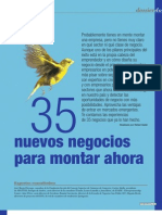 35 Nuevos Negocios