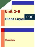 Unit 02 a - Plant Layout