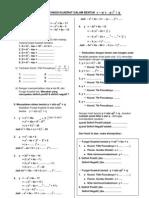 Lks Fungsi Kuadrat Dalam Bentuk (X-p)