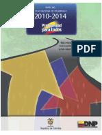 Plan nacional de desarrollo 2010-2014, Colombia, Ley 1450 de 2011