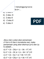 Soal Matematika To