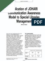 Application JohariWindow