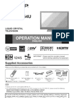 Old Sharp Tv Manual