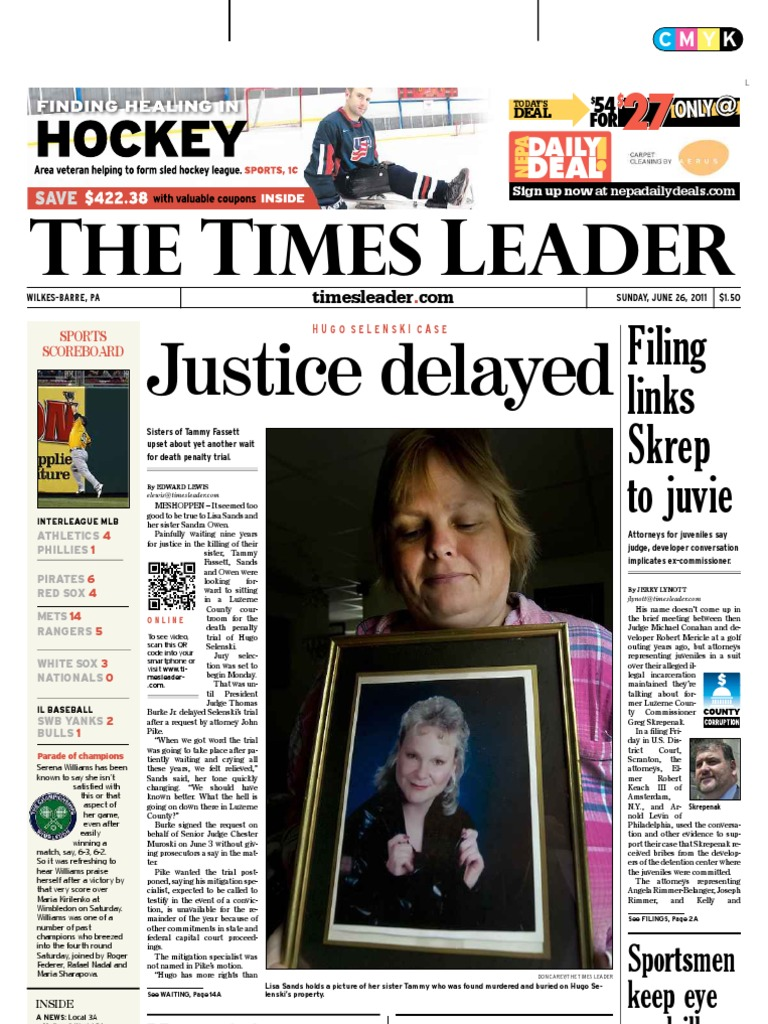 Times Leader 06-26-2011 | Powerball | Hydraulic Fracturing