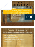 managing financial resources 4 essay Managing financial resources and decisions managing financial resources and decisions aim the unit aim is to provide an understanding of where and how to.