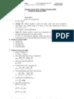 Formulario de Bioestadistica para Quimicos (Parte 1)