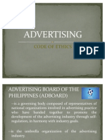 Code of Ethics in Advertising
