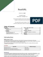 Realurl Manual