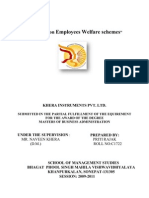 39399738 Final Project Report on Employees Welfare (1)