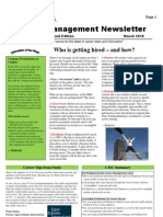 Career Management Newsletter for University Students - written by Roderick Lewis