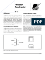 TopSwitch Flyback Transformer Construction Guide AN18