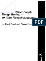 Switching Power Supply Design Review - 60 Watt Flyback Regulator by Raoji Patel and Glen Frftz Slup072