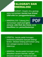Kristalografi Dan Mineralogi