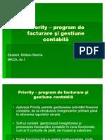 Priority Program Marina Mititelu