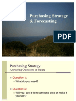 4-Purchasing Strategy & Forecasting