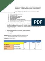 Modul Microsoft Word-Zadaci