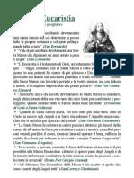 La SS. Eucaristia - Pensieri e preghiere - Stampa 4,1 - 2,3