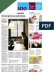 Folha - 20110625 - Posts em redes sociais viram provas na Justiça