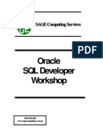 Oracle SQL Developer Workshop
