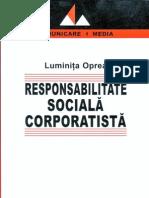 Responsabilitate sociala corporatista